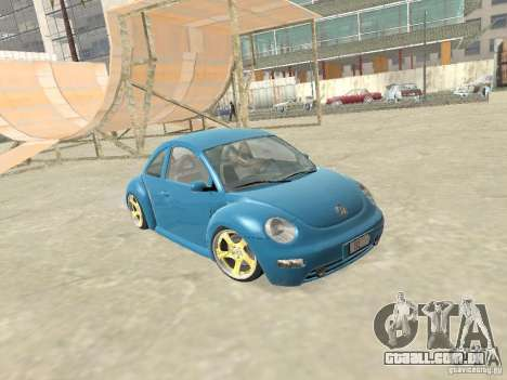 VW Beetle 2004 para GTA San Andreas