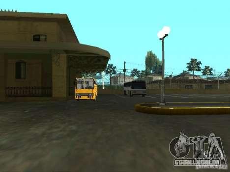 5 ônibus v. 1.0 para GTA San Andreas por diante tela