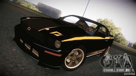 Shelby GT500 Terlingua para GTA San Andreas esquerda vista