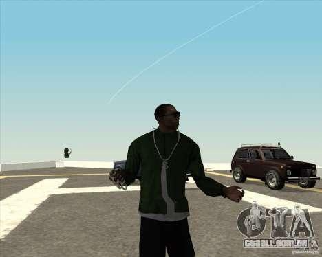 Animação diferente para GTA San Andreas quinto tela