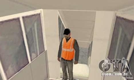 Airport Vehicle para GTA San Andreas nono tela