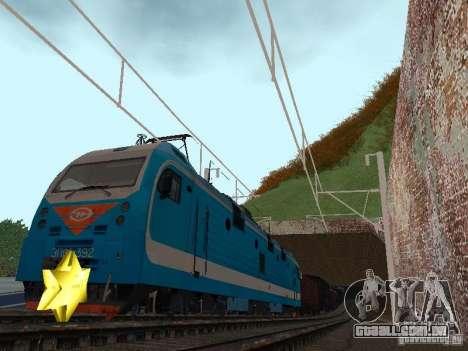 Animtrain para GTA San Andreas terceira tela