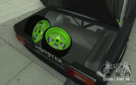 VAZ 2106 Lada Drift afinado para o motor de GTA San Andreas