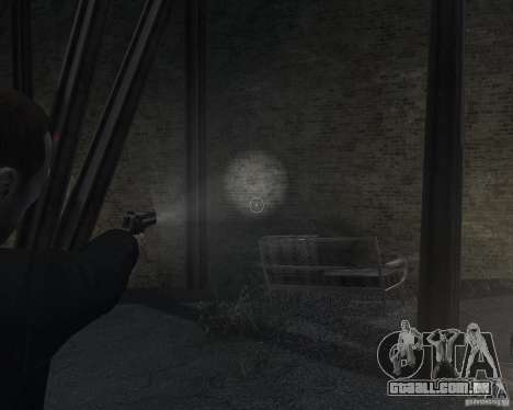 Flashlight for Weapons v 2.0 para GTA 4 por diante tela