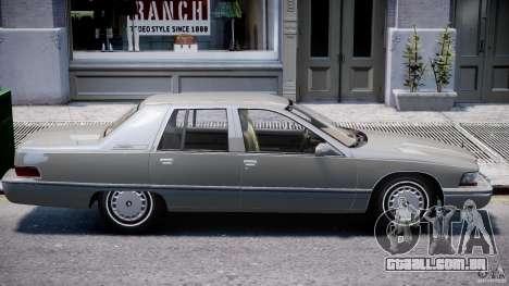 Buick Roadmaster Sedan 1996 v 2.0 para GTA 4 interior