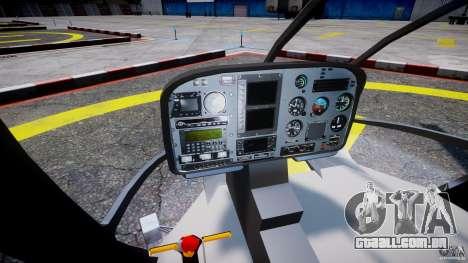 Eurocopter EC 130 Finnish Police para GTA 4 vista de volta