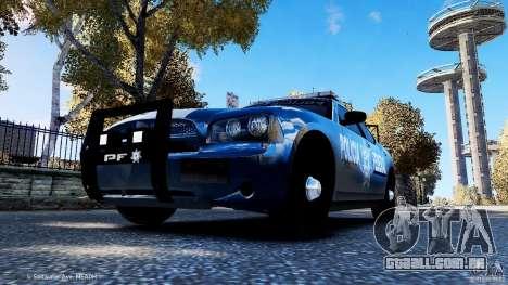 POLICIA FEDERAL MEXICO DODGE CHARGER ELS para GTA 4