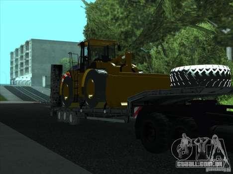 Semi Artict3 para GTA San Andreas vista traseira