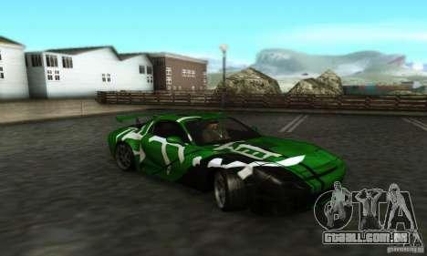 iPrend ENBSeries v1.3 Final para GTA San Andreas por diante tela