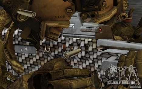 Tavor Tar-21 Carbon para GTA San Andreas terceira tela