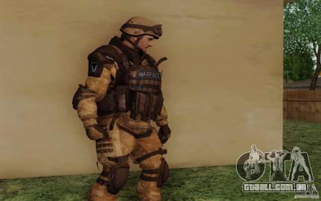 Šturomvik de Warface para GTA San Andreas segunda tela