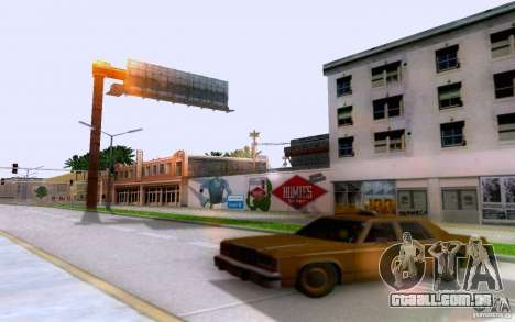 Ford Crown  Victoria LTD 1985 taxi para GTA San Andreas traseira esquerda vista