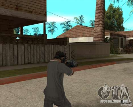 M4 Drum Magazine para GTA San Andreas terceira tela