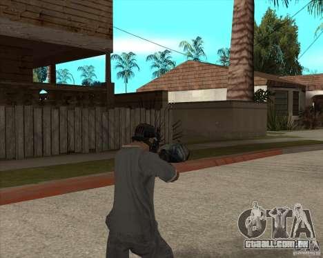 M4 Drum Magazine para GTA San Andreas terceira tela