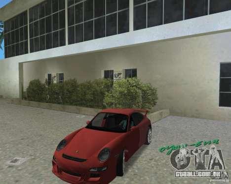 Porsche 911 GT3 para GTA Vice City