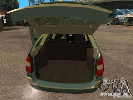 Renault Laguna II para GTA San Andreas vista traseira