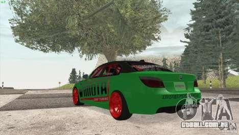 BMW M5 E60 Darius Balys para GTA San Andreas vista direita