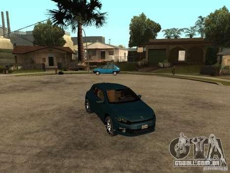 Volkswagen Scirocco 2010 para GTA San Andreas vista direita