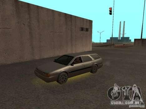 Neon mod para GTA San Andreas quinto tela