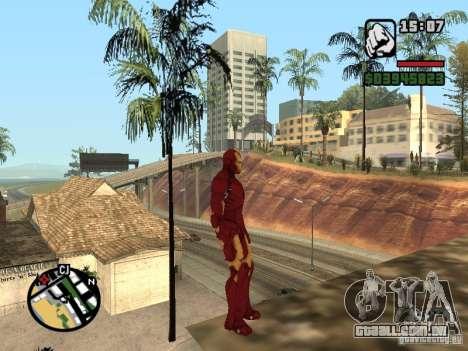 Iron man 2 para GTA San Andreas terceira tela