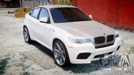 BMW X6M v1.0 para GTA 4 vista interior