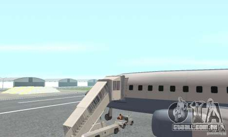 Airport Vehicle para GTA San Andreas segunda tela