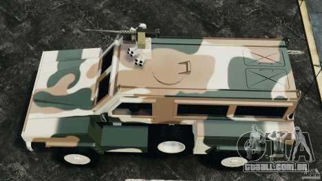 RG-31 Nyala SANDF para GTA 4 vista direita