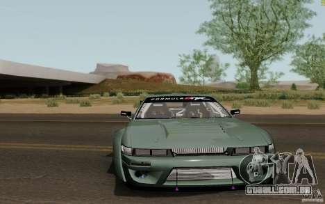 Nissan S13 Ben Sopra para GTA San Andreas esquerda vista