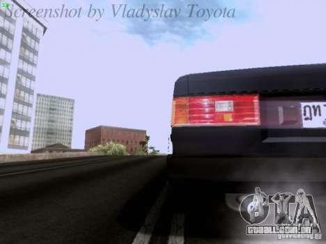 Toyota Corolla TE71 Coupe para GTA San Andreas vista superior