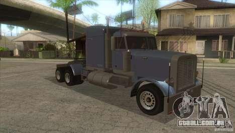 Fantasma do GTA IV para GTA San Andreas vista traseira