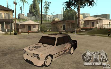 VAZ 2106 duro sintonizado para GTA San Andreas