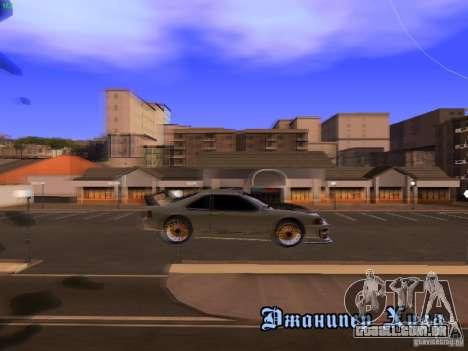 New Racing Style Fortune para GTA San Andreas vista interior