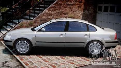 Volkswagen Passat B5 para GTA 4 esquerda vista