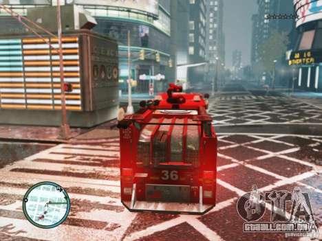 New LCFD Car para GTA 4 vista direita
