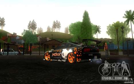 Nissan Silvia RPS13 Noxx para GTA San Andreas vista direita