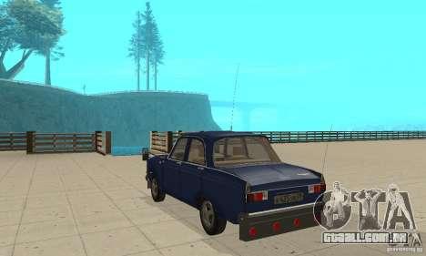 412 Moskvich com tuning para GTA San Andreas traseira esquerda vista