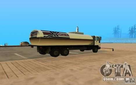 DFT-30 c tanque para GTA San Andreas traseira esquerda vista