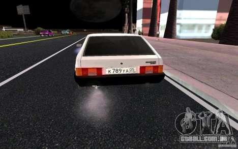 VAZ 2109 para GTA San Andreas vista interior
