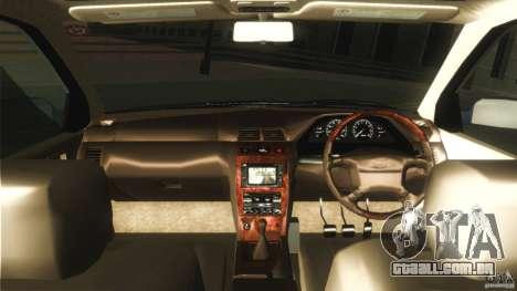 Nissan Cefiro A32 Kouki para GTA San Andreas vista interior