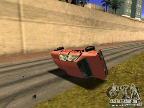 Realistic Car Crash Physics para GTA San Andreas
