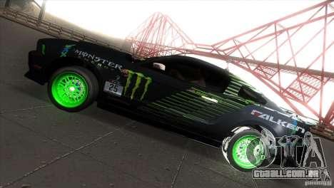 Ford Shelby GT500 Falken Tire para GTA San Andreas esquerda vista