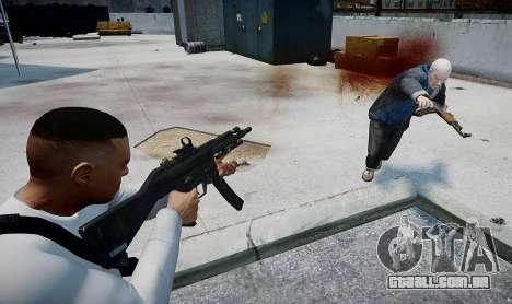 MP5 (CoD: Modern Warfare 3) para GTA 4 terceira tela