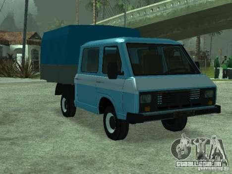 RAPH 3311 Pickup para GTA San Andreas traseira esquerda vista