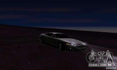 Jaguar XKRS para GTA San Andreas vista direita