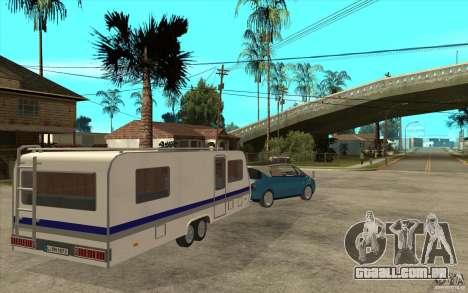 Trailer para a Renault Avantime para GTA San Andreas vista direita