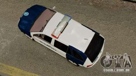 Skoda Fabia Combi Finnish Police ELS para GTA 4 vista direita