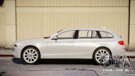 BMW M5 F11 Touring para GTA 4 esquerda vista