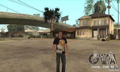 substituição de pele 3 Cj para GTA San Andreas por diante tela