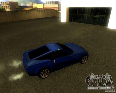 Exage para GTA San Andreas traseira esquerda vista