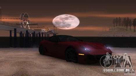 Sunny ENB Setting Beta 1 para GTA San Andreas sexta tela